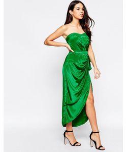 VLabel London | Платье Бандо Миди Vlabel Hampton