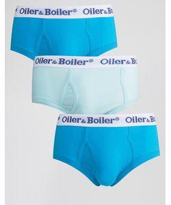 Oiler & Boiler | 3 Трусов Синий