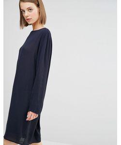 Selected | Цельнокройное Платье Poey Navy Blazer