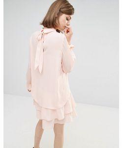 LOST INK | Платье Розовый
