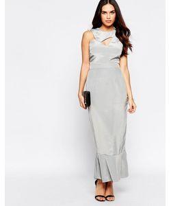 VLabel London | Платье С Оборкой На Подоле Vlabel Ally