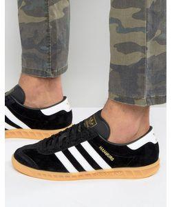 adidas Originals | Черные Кроссовки Hamburg S76696 Черный