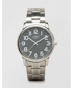 Limit   Серебристые Наручные Часы С Серым Циферблатом Эксклюзивно Для Asos
