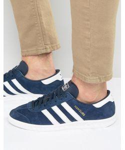adidas Originals | Темно-Синие Кроссовки Hamburg S74838 Темно-Синий