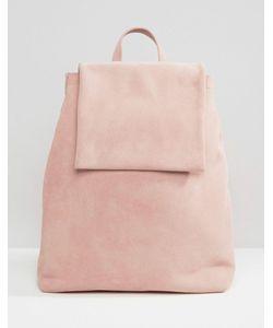 Boopacks | Розовый Замшевый Рюкзак Boo Роза