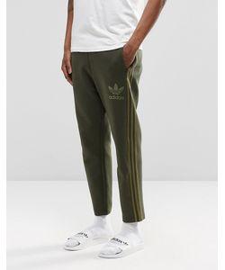 adidas Originals | Джоггеры Длиной 7/8 Adicolour B10721 Зеленый