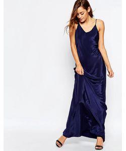 VLabel London | Платье Макси На Тонких Бретельках Vlabel Covent