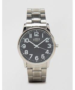 Limit | Серебристые Наручные Часы С Черным Циферблатом Эксклюзивно Для Asos