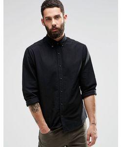 Only & Sons | Оксфордская Рубашка Черный