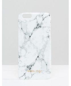 Happy Plugs | Чехол Для Iphone 6/6s С Мраморным Узором Carrara