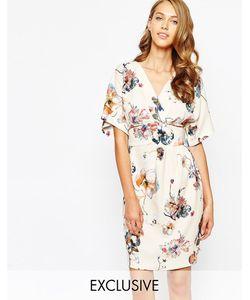 Closet | Платье С Поясом И Рукавамикимоно Obi