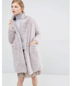 Paisie | Плюшевое Пальто Серый