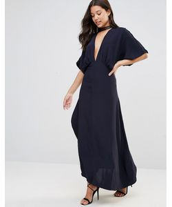 Foxiedox   Платье С Запахом Jasmine Темно-Синий