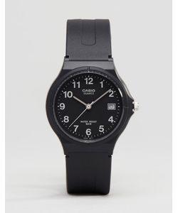 Casio   Черные Классические Аналоговые Часы Mw59-1b Черный