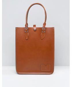 Leather Satchel Company   Сумка-Тоут The Лондонский Беж