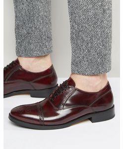 Base London | Кожаные Оксфордские Туфли Xxi Noel Красный