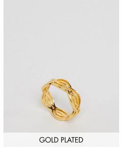 gorjana | Кольцо С Отделкой Волнами Mesa Золотой