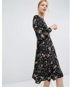Paisie   Свободное Платье С Цветочным Принтом Мульти