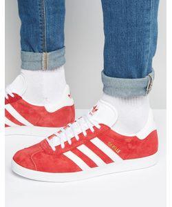 adidas Originals | Красные Кроссовки Gazelle S76228 Красный