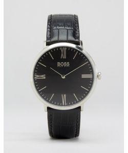 Hugo | Часы С Кожаным Ремешком Ultra Jackson Черный