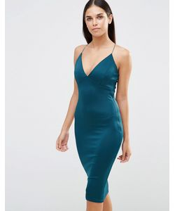 AX Paris | Платье Миди Сине-Зеленый