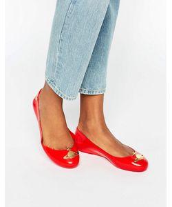 Vivienne Westwood for Melissa | Красные Туфли На Плоской Подошве Space Love