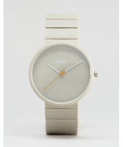 Braun | Классические Серые Часы В Минималистском Стиле Серый