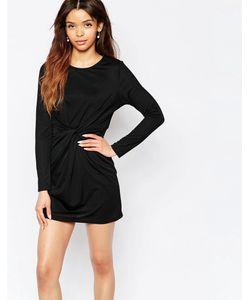 Wal G | Платье С Перекрученным Дизайном Черный