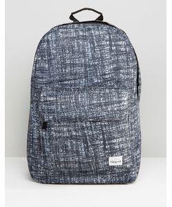 Spiral | Черный Рюкзак С Принтом Серый