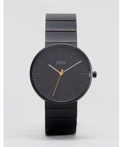 Braun | Черные Часы С Минималистским Дизайном Classic Черный