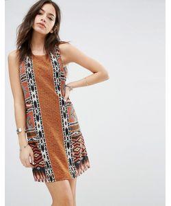 Only | Цельнокройное Платье С Ацтекским Принтом Ацтекский Принт