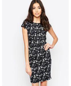 Sugarhill Boutique | Цельнокройное Платье С Цветочным Принтом Georgie Темно-Синий