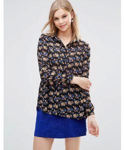 Poppy Lux | Свободная Блузка С Цветочным Принтом Reanne