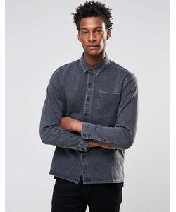 Levis Line 8 | Серая Джинсовая Рубашка С Карманом Levis Line 8 Серый С
