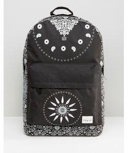 Spiral | Черный Рюкзак Bandana Черный