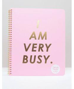 BAN DO | Большой Блокнот С Принтом I Am Busy Ban.Do Мульти