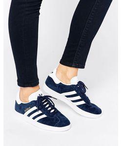 Adidas | Темно-Синие Замшевые Кроссовки Originals Gazelle