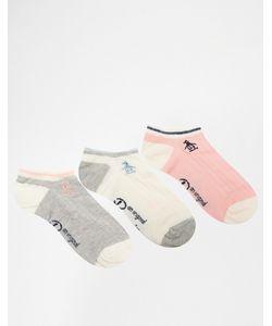 PENGUIN | Комплект Из 3 Пар Спортивных Носков С Косами