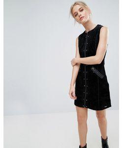 Pepe Jeans London | Замшевое Платье A-Силуэта Marche