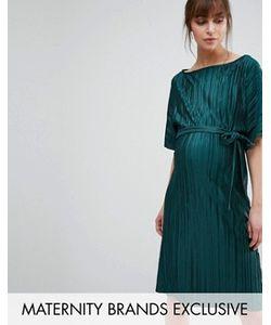 Queen Bee | Плиссированное Цельнокройное Платье