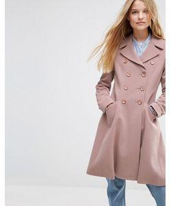 Asos | Двубортное Приталенное Пальто