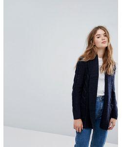 New Look | Кардиган С Узором Косы