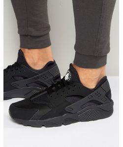 Nike | Черные Кроссовки Air Huarache 318429-003 Черный
