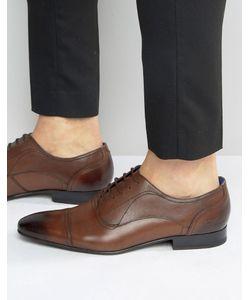 Ted Baker | Темно-Бордовые Оксфордские Туфли Umbber Коричневый