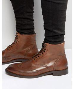 Hudson London   Кожаные Ботинки Greenham Коричневый