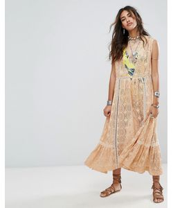 Free People | Платье Миди Shine On
