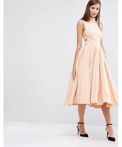 8th Sign | Платье С Высоким Воротом И Плиссированной Юбкой The