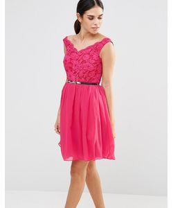 Laced In Love | Кружевное Платье Розовый