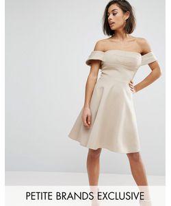 True Decadence Petite | Пышное Платье Миди Для Выпускного Caramac