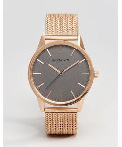 UNKNOWN | Классические Часы 39 Мм Цвета Розового Золота Золотой